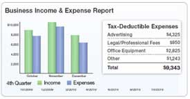 Business Income and Expense Report