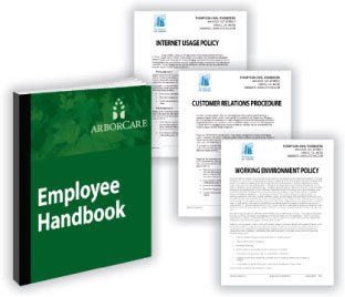 Set workplace guidelines and reduce legal risks with an Employee Handbook.