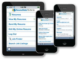 FREE! Continue your job search On-the-Go!