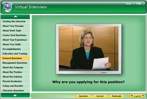 Learn the best possible responses to even the toughest interview questions with Virtual Interview.