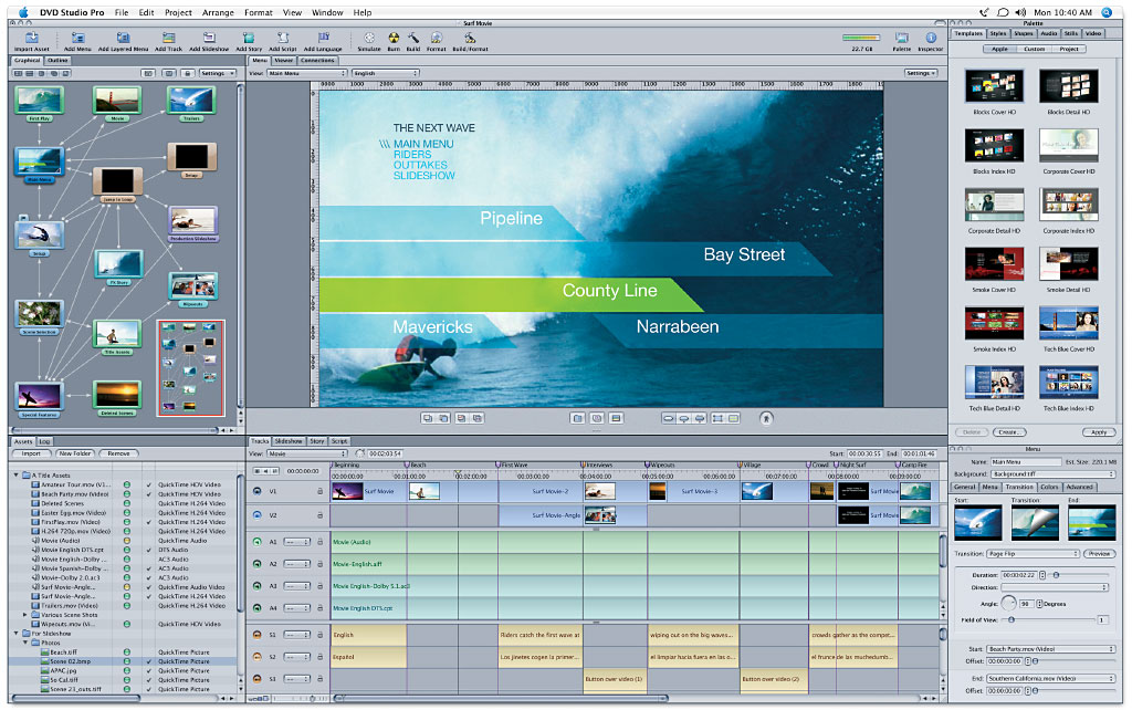DVD Studio Pro offers an elegant user interface for professional DVD ...: www.amazon.com/Apple-Final-Cut-Studio-VERSION/dp/B000BWZZ66