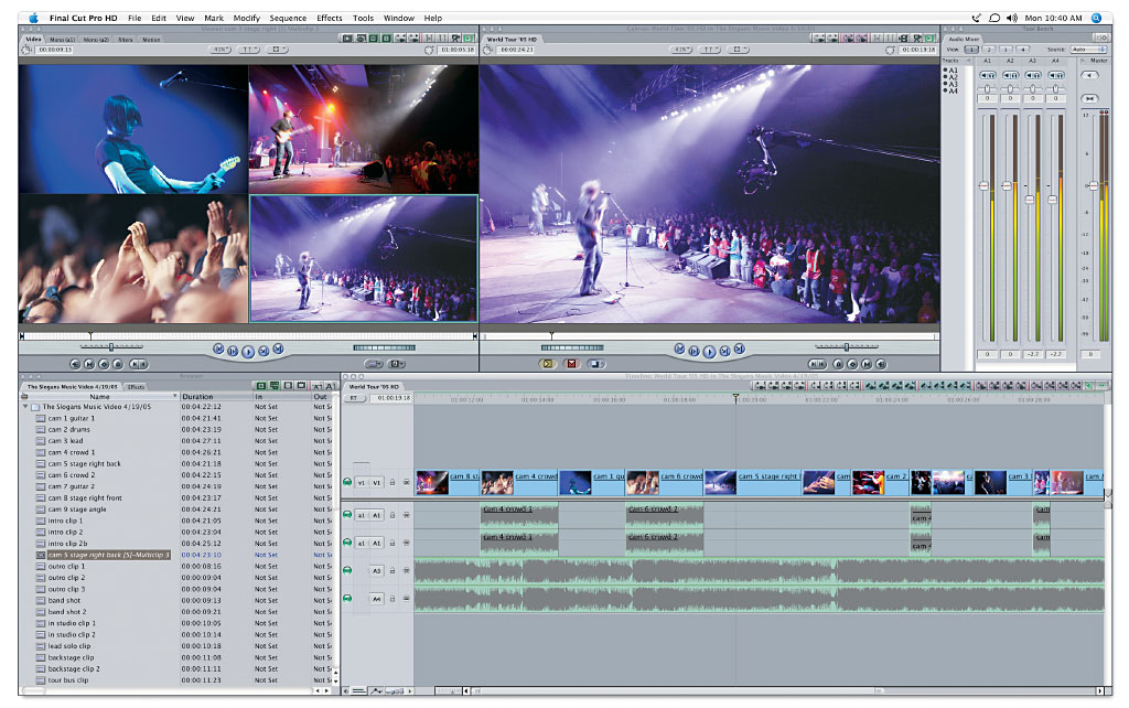 final cut pro 5 keeps you working the way you want to work the final
