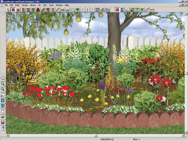 Garden design ideas shutter line Better homes and gardens flower bed designs