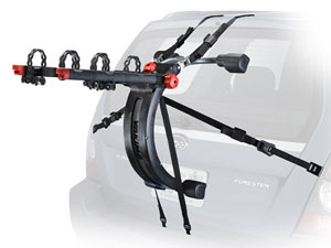 The QuickBack includes SwitchBlade anti-sway cradles that eliminate