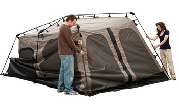 The Coleman Instant Tent sets up and collapses in 1 minute or less. The secret to the tentu0027s seamless setup is the pole system which comes pre-attached to ...  sc 1 st  GoSale.com & Coleman Instant Tent 8 (14x10u0027) | GoSale Price Comparison Results