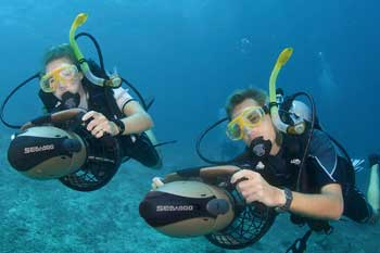 """Plus"" Sea Scooter : Diving Safety Gear : Sports & Outdoors"