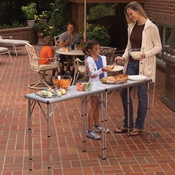 Coleman pack away 4 in 1 table camping - Coleman small spaces bbq decoration ...