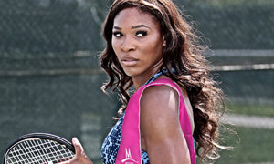 Serena Williams using Enduracool