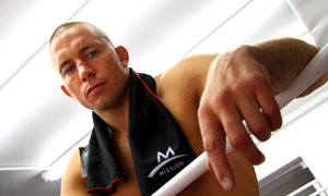 Georges St-Pierre using Enduracool