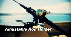 Riot Kayak Escape 12 Angler Adjustable Rod Holder