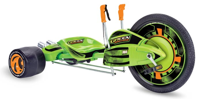 razor green machine