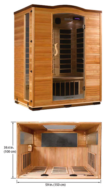 Ironman 3-Person Carbon Foot Therapy Sauna