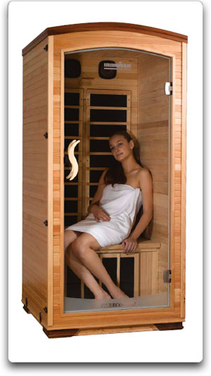 Ironman 1-Person Carbon Foot Therapy Sauna