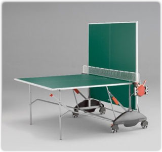 The Kettler Match 5.0 Folds For Easy Storage.... ...