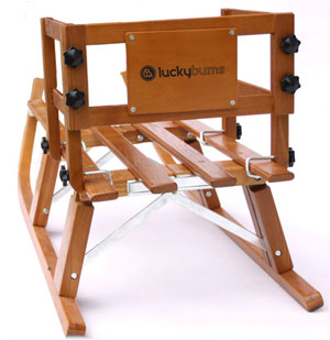Lucky Bums Foldable Pull Sled