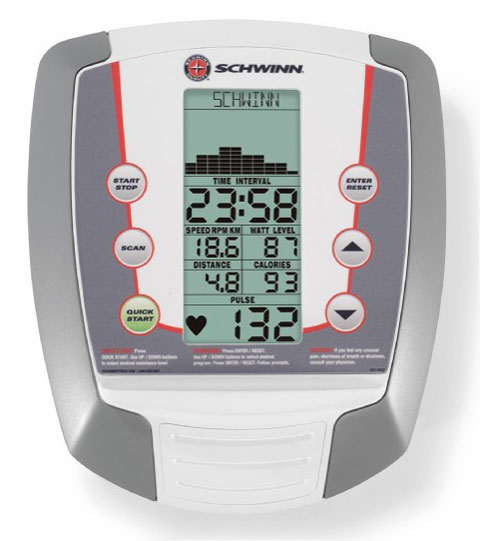 Amazon.com : Schwinn 220 Recumbent Exercise Bike (2009 Model) : Sports & Outdoors