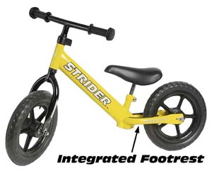 Bikes For Toddlers With No Pedals The Strider teaches your child