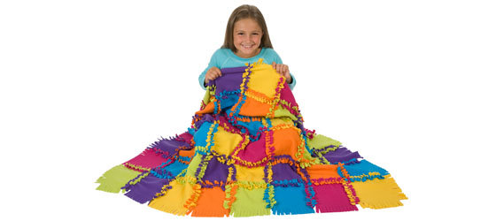 girl 2 with quilt
