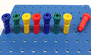 Pegs and Pegboard Aligned