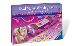 Bead Weaving Loom with easy-to-follow instructions.