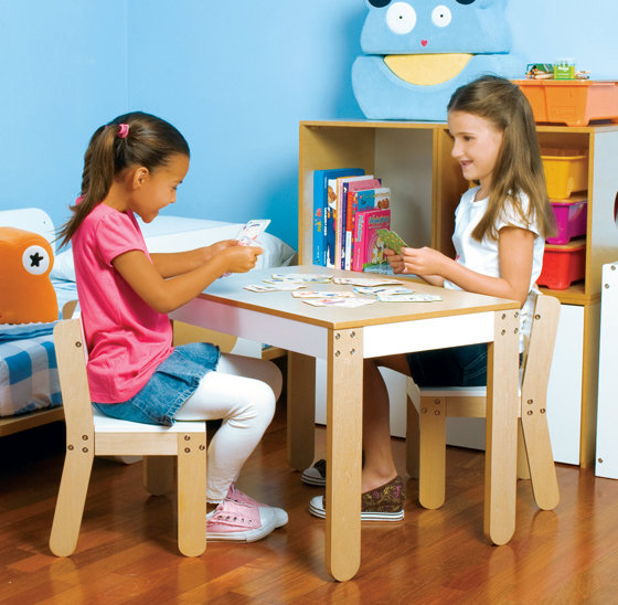 Little One's Table & Chairs, White