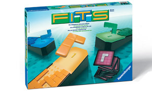 Skillfully fill in your playing board with the differently shaped tiles.