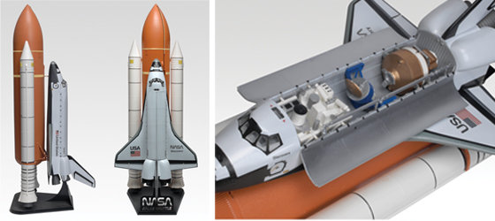 Amazon.com: Revell Space Shuttle With Fuel Tank And