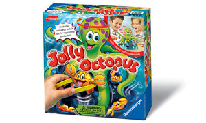 Jolly Octopus - an interactive children's game.