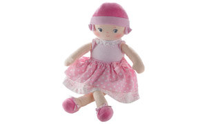Machine washable doll