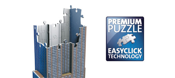 Premium Puzzle with Ravensburger's Easyclick Technology.