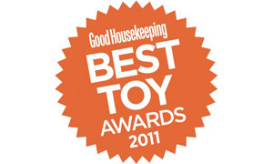 Good Housekeeping Best Toy Award 2011.