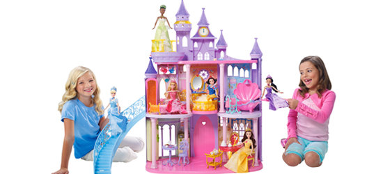 Girls and Princess Castle