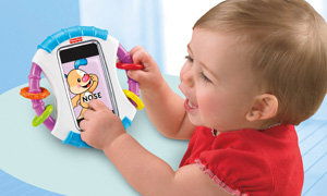 Child with Apptivity case