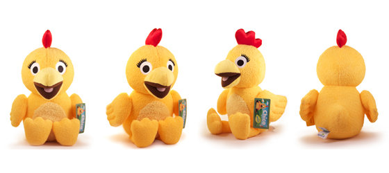Amazon.com: Chica Plush from The Sunny Side Up Show on Sprout - 13