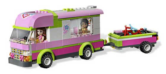 B007Q0O9UY 3 LEGO Friends 3184 Adventure Camper