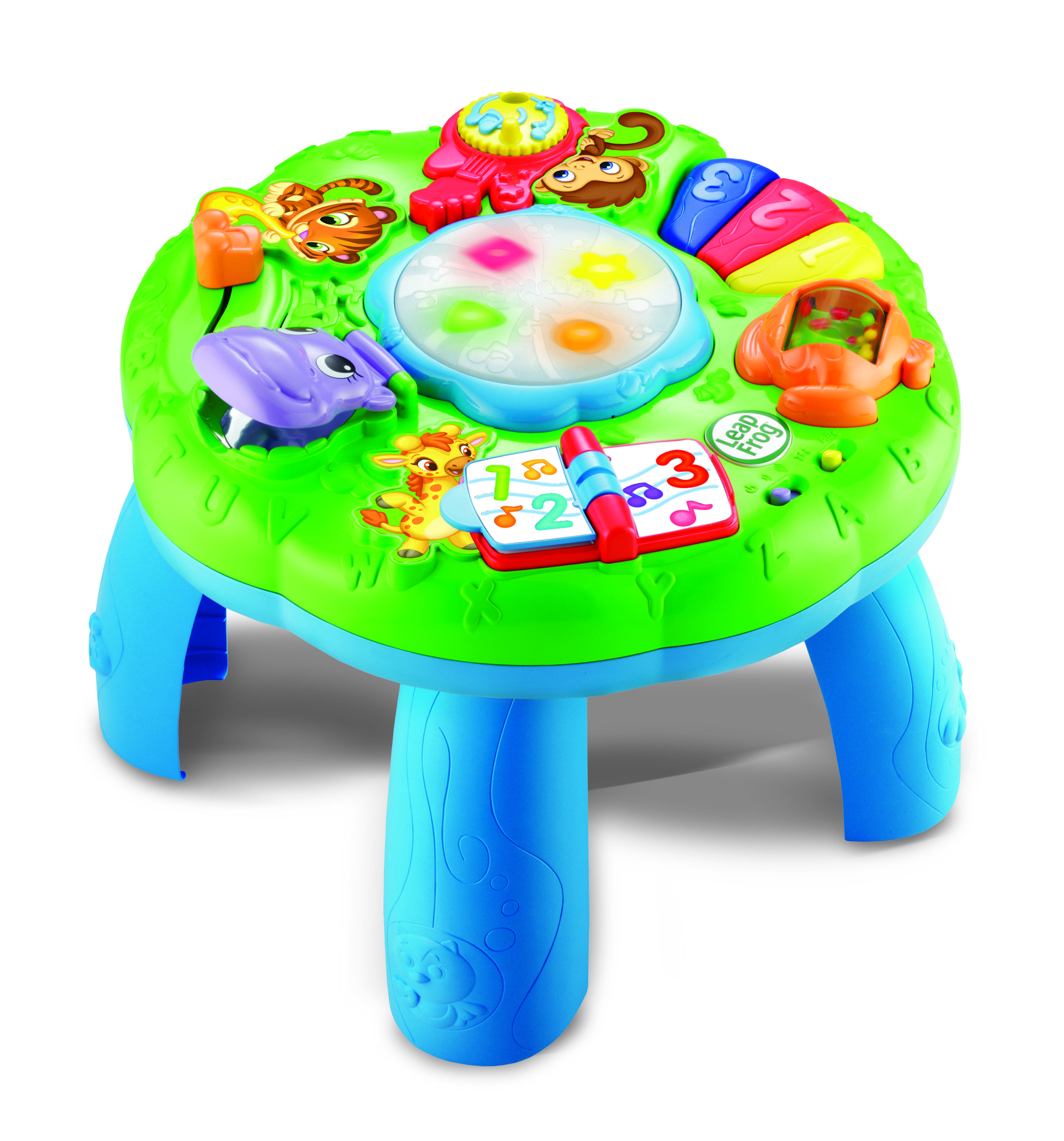 Amazon Com Leapfrog Animal Adventure Learning Table Toys