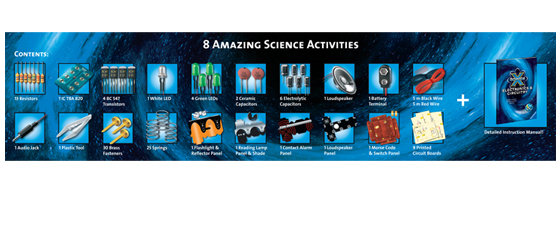 Contents for 8 amazing activities included!