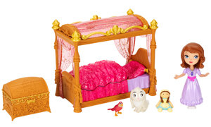 Doll and bed