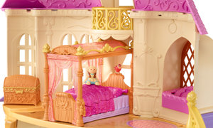 bed in castle