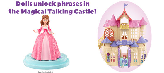 Castle image and doll stand