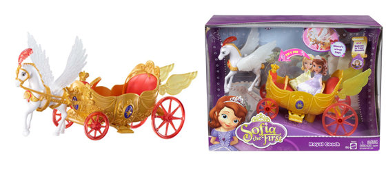 Amazon.com: Disney Sofia The First Royal Coach Playset: Toys & Games