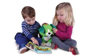 Build reading skills with a cuddly friend!