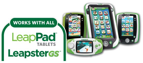 Explorer learning games work with LeapPad Ultra, LeapPad2, LeapPad2 Power, LeapPad1, LeapsterGS and Leapster Explorer (sold separately).