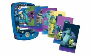 Customize your LeapPad2 with Monsters University stickers and wallpapers.
