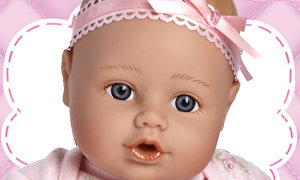 Just the right doll for Your Little Princess