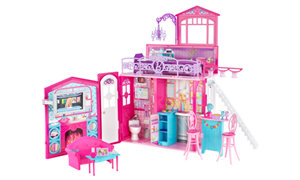 Amazon Com Barbie Glam Vacation House Toys Amp Games