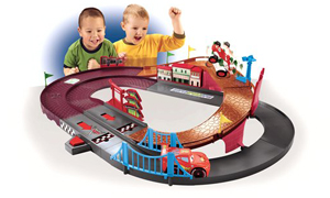 Fisher Price Disney Cars Racing Rivalry Track Playset