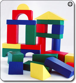 B000068CKY 2 sm Melissa & Doug 100 Piece Wood Blocks Set