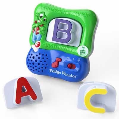 Amazon.com: LeapFrog Fridge Phonics Magnetic Alphabet Set - Styles May ...