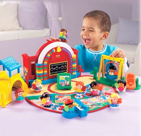 Amazon.com: Fisher Price Little People Time-to-Learn Preschool: Toys